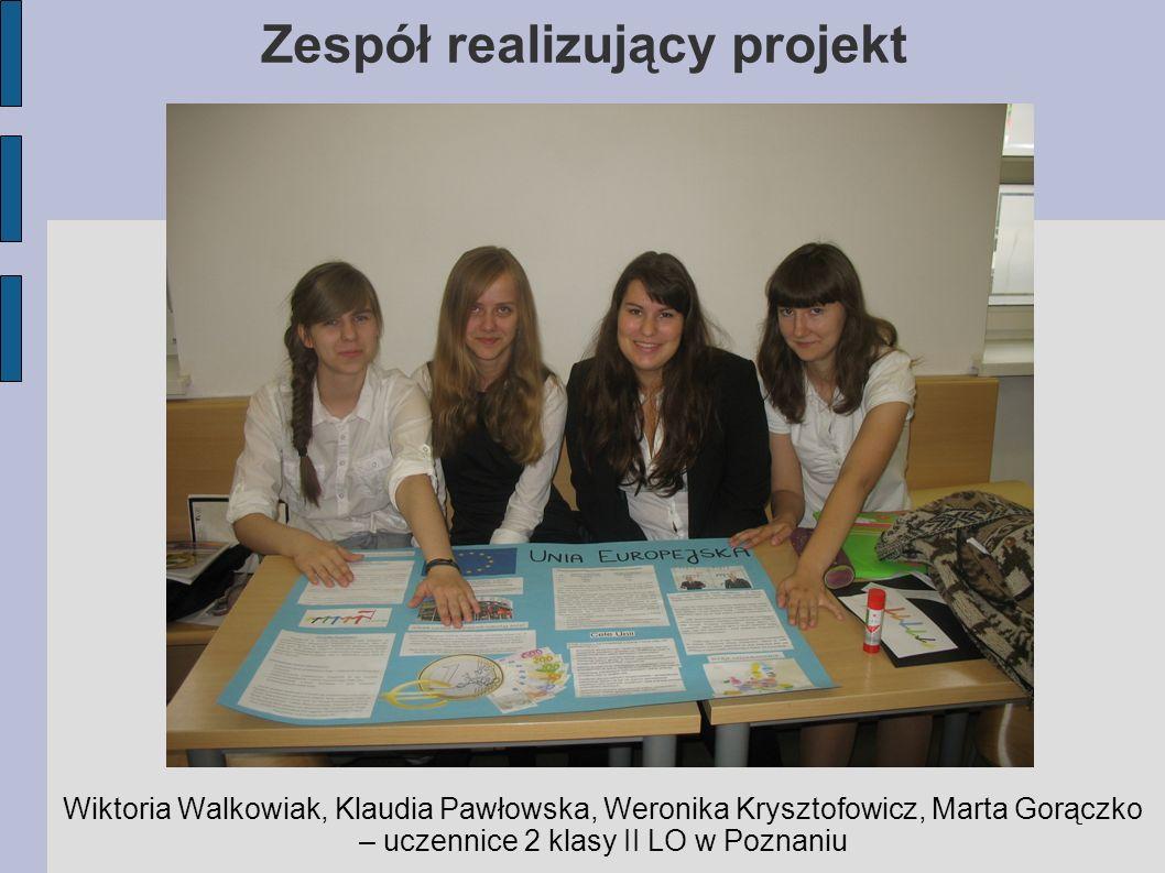 Zespół realizujący projekt