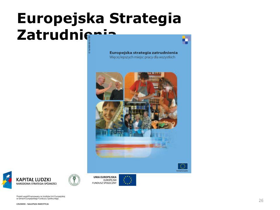 Europejska Strategia Zatrudnienia