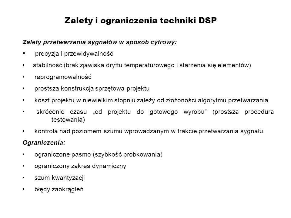 Zalety i ograniczenia techniki DSP