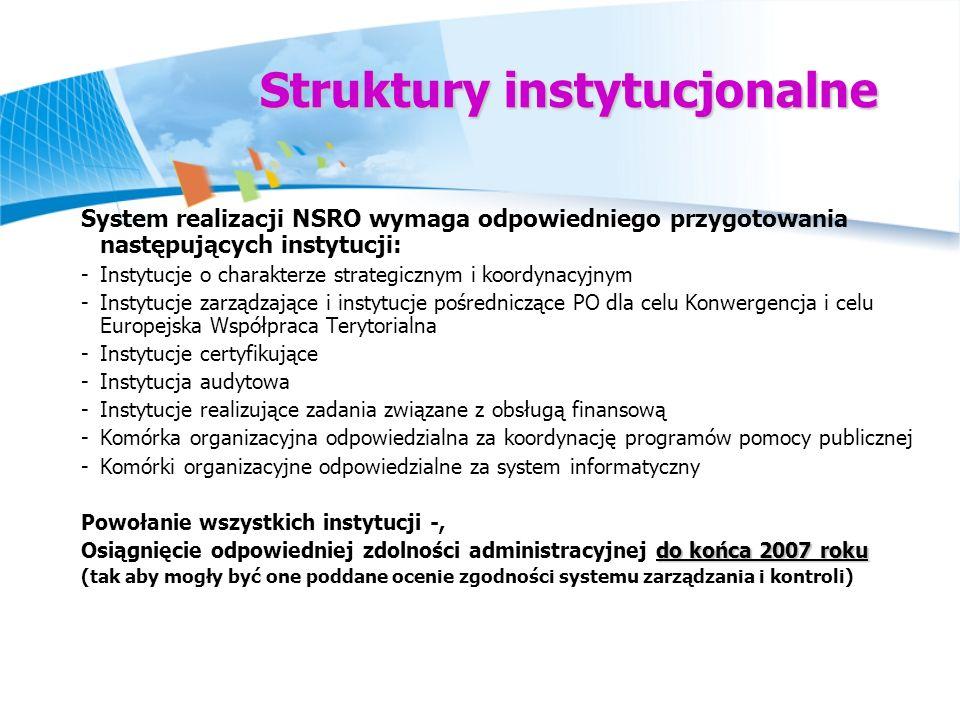 Struktury instytucjonalne