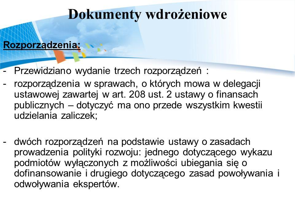 Dokumenty wdrożeniowe