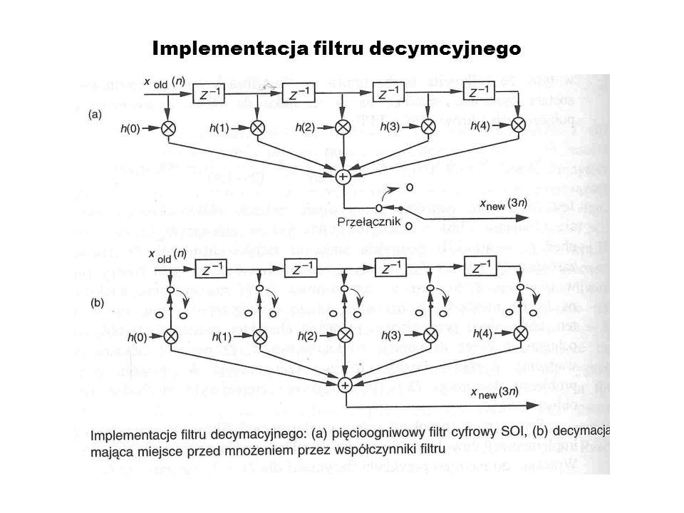 Implementacja filtru decymcyjnego