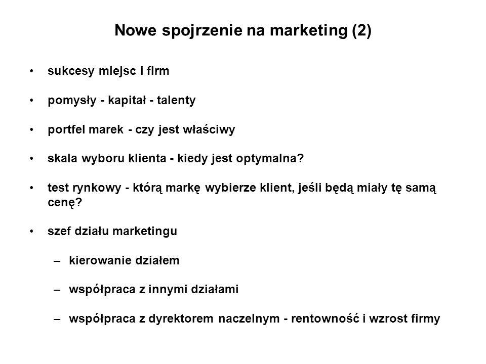 Nowe spojrzenie na marketing (2)