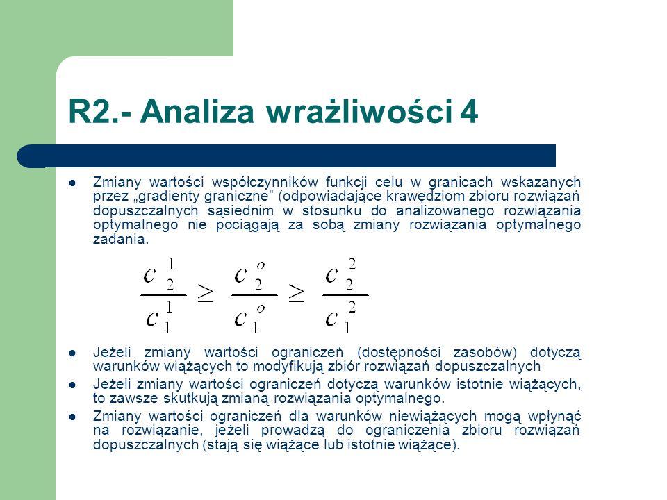R2.- Analiza wrażliwości 4