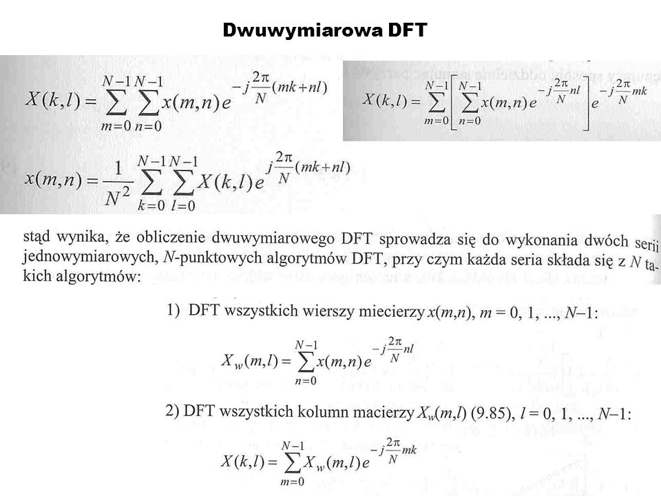 Dwuwymiarowa DFT