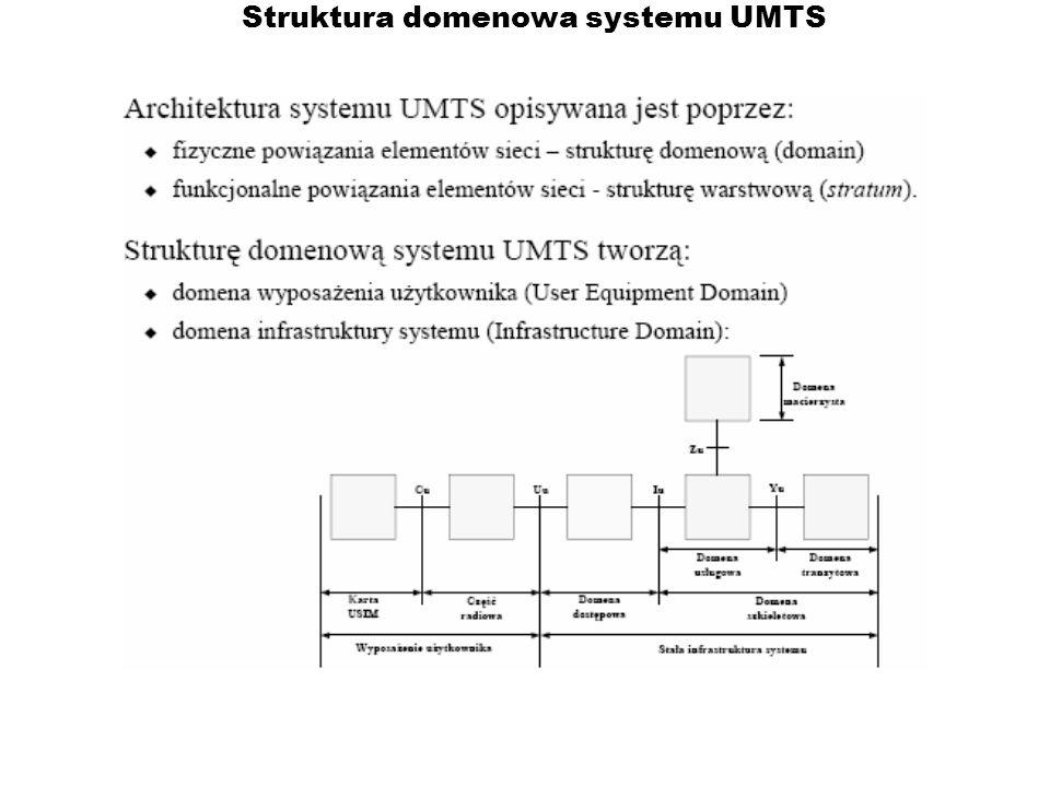 Struktura domenowa systemu UMTS