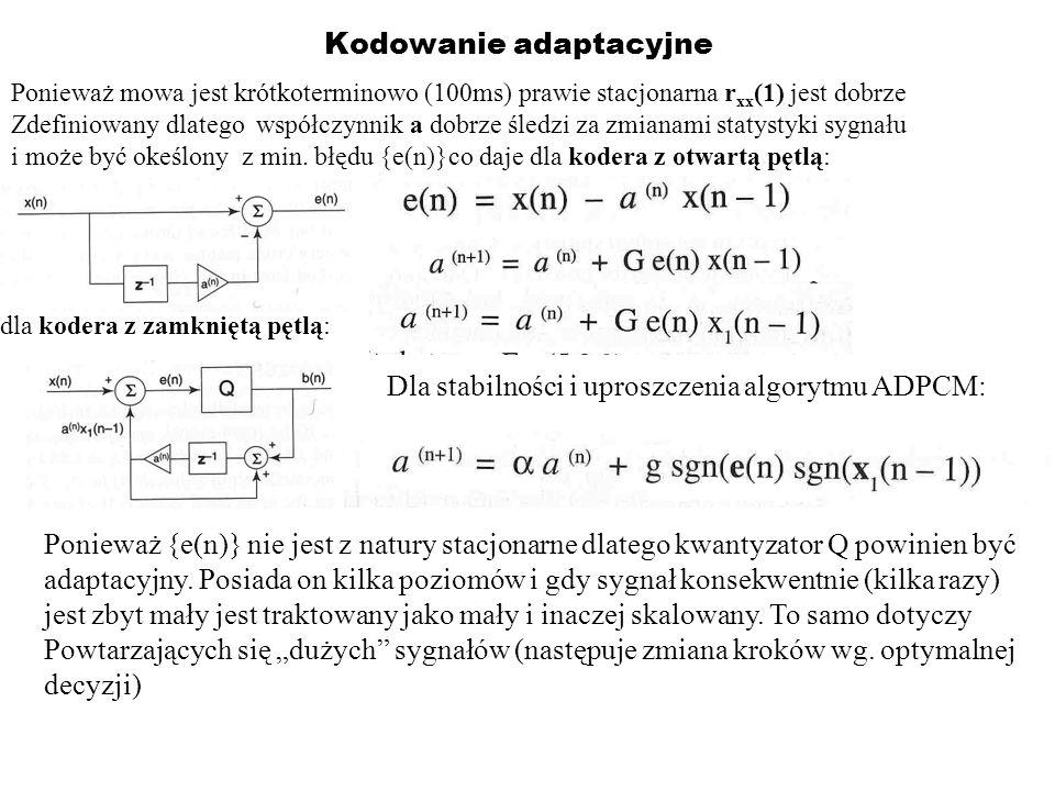 Kodowanie adaptacyjne