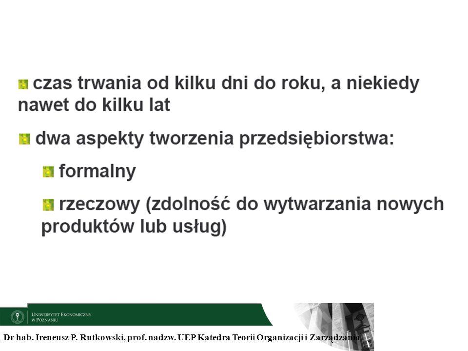 Dr hab. Ireneusz P. Rutkowski, prof. nadzw