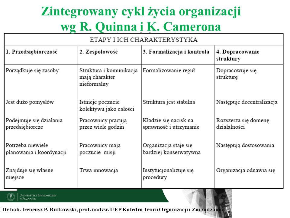 Zintegrowany cykl życia organizacji