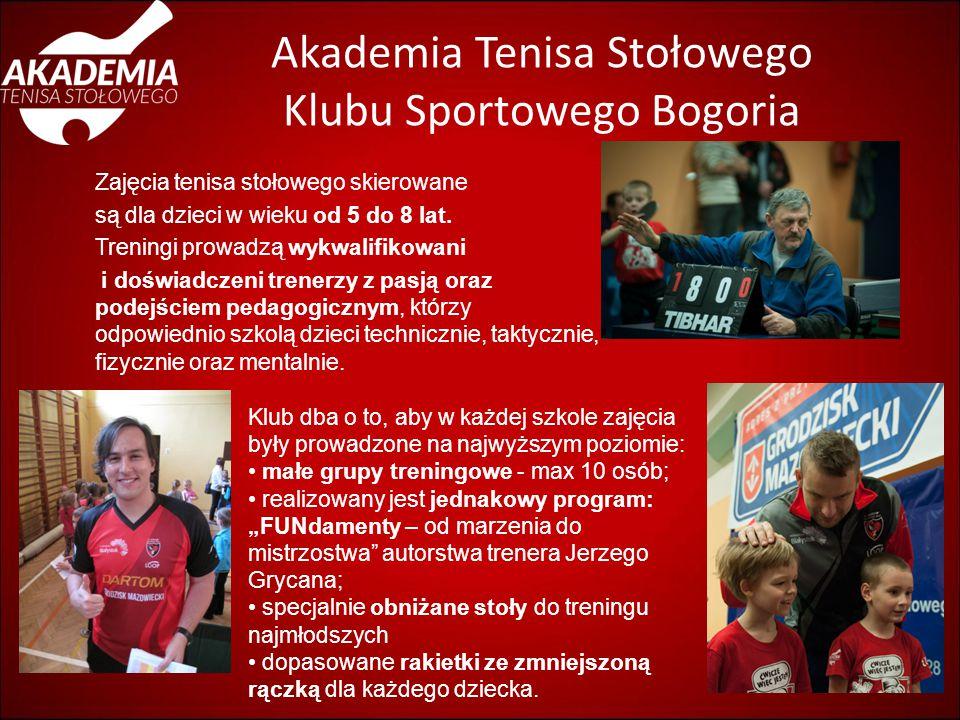 Akademia Tenisa Stołowego Klubu Sportowego Bogoria