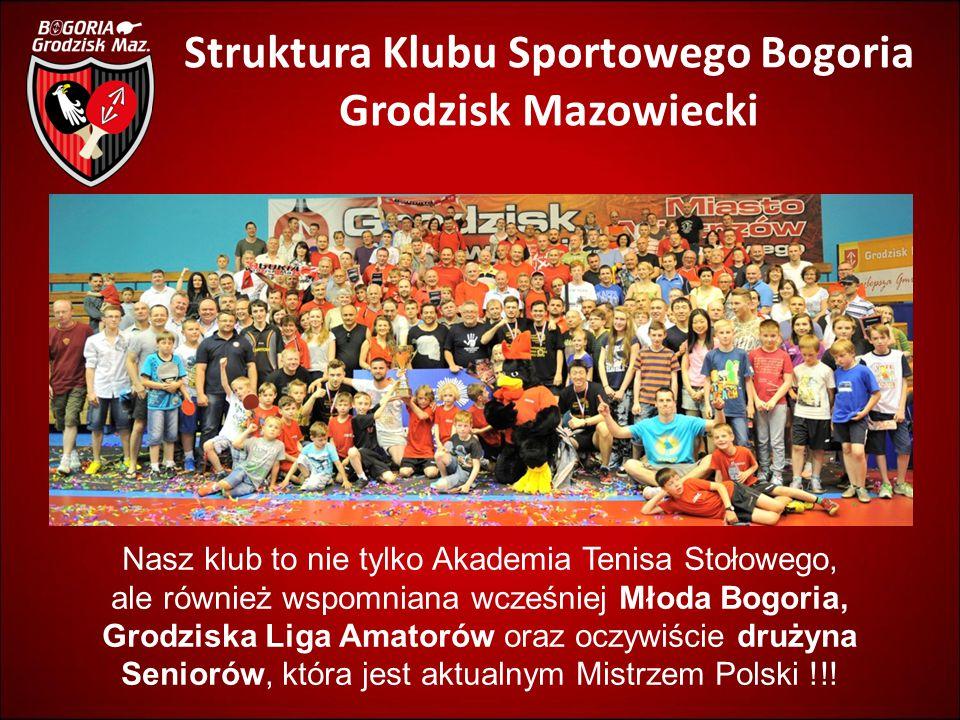 Struktura Klubu Sportowego Bogoria Grodzisk Mazowiecki