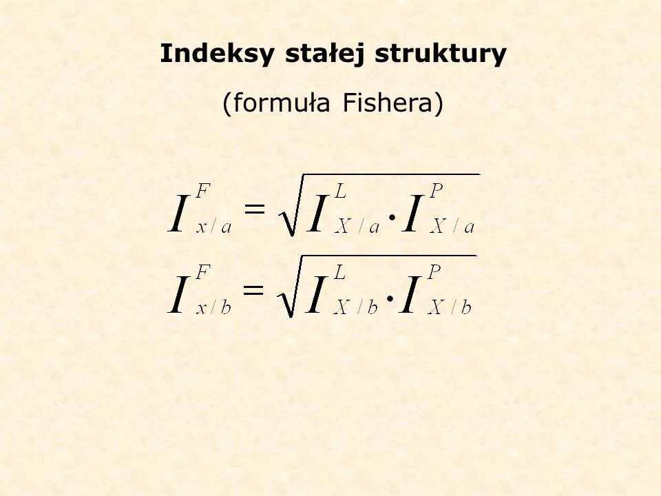 Indeksy stałej struktury