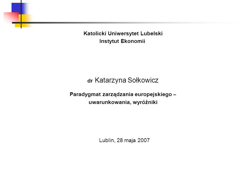 Katolicki Uniwersytet Lubelski uwarunkowania, wyróżniki