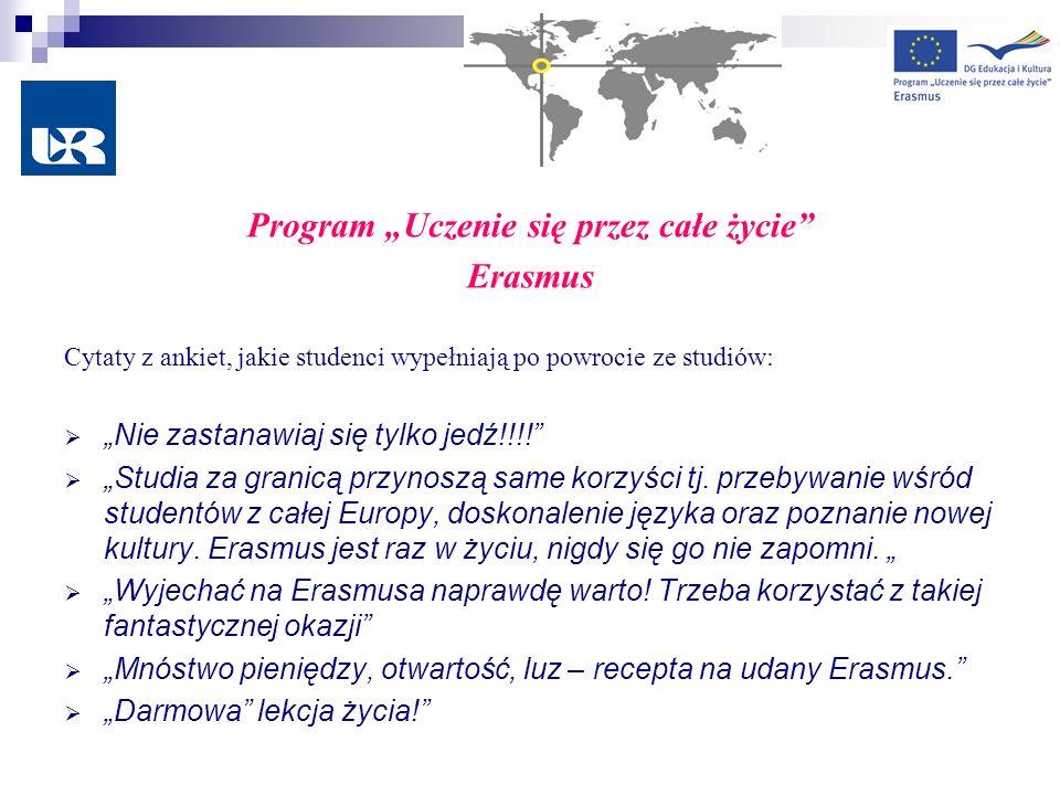 """Program """"Uczenie się przez całe życie"""