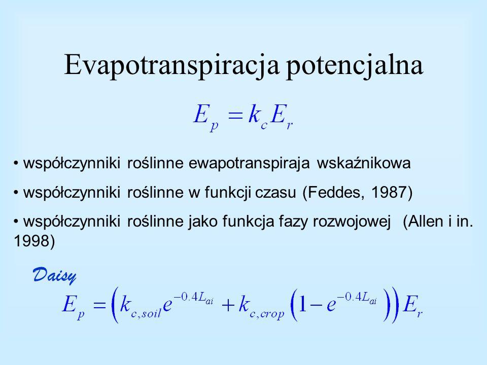 Evapotranspiracja potencjalna