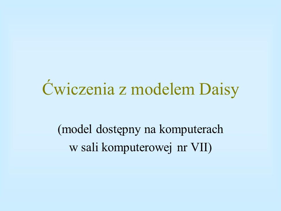 Ćwiczenia z modelem Daisy