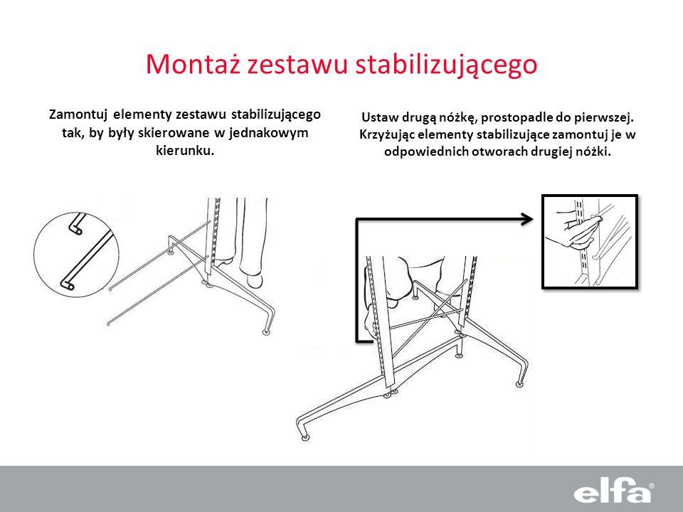 Montaż zestawu stabilizującego