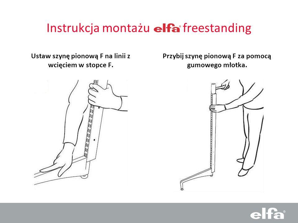 Instrukcja montażu freestanding