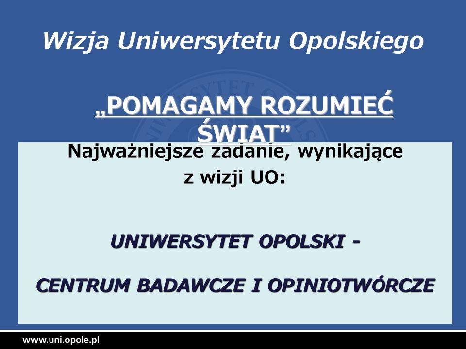 Wizja Uniwersytetu Opolskiego