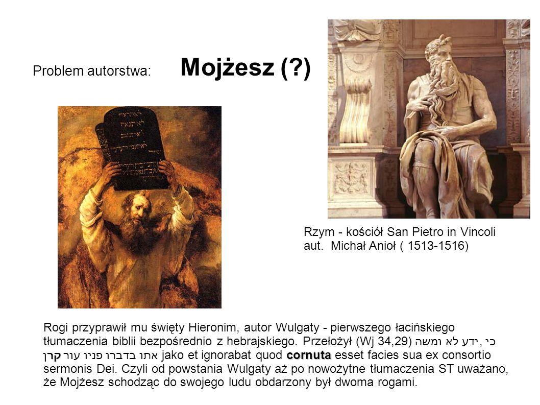 Problem autorstwa: Mojżesz ( )