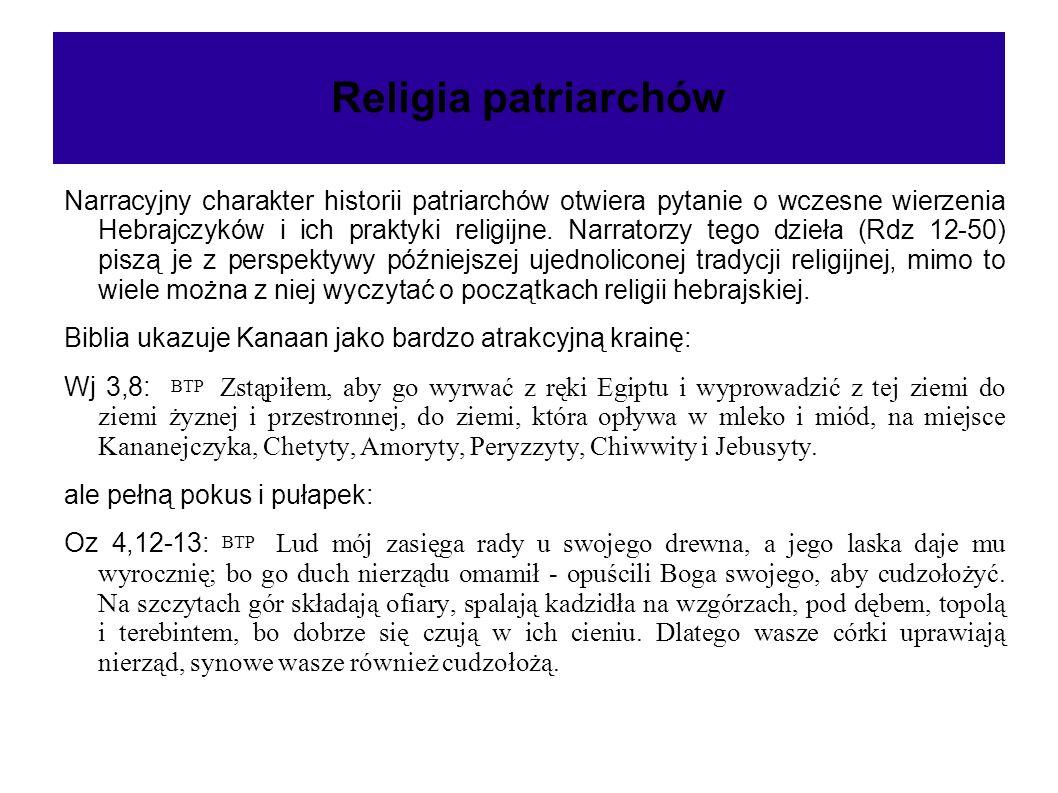 Religia patriarchów