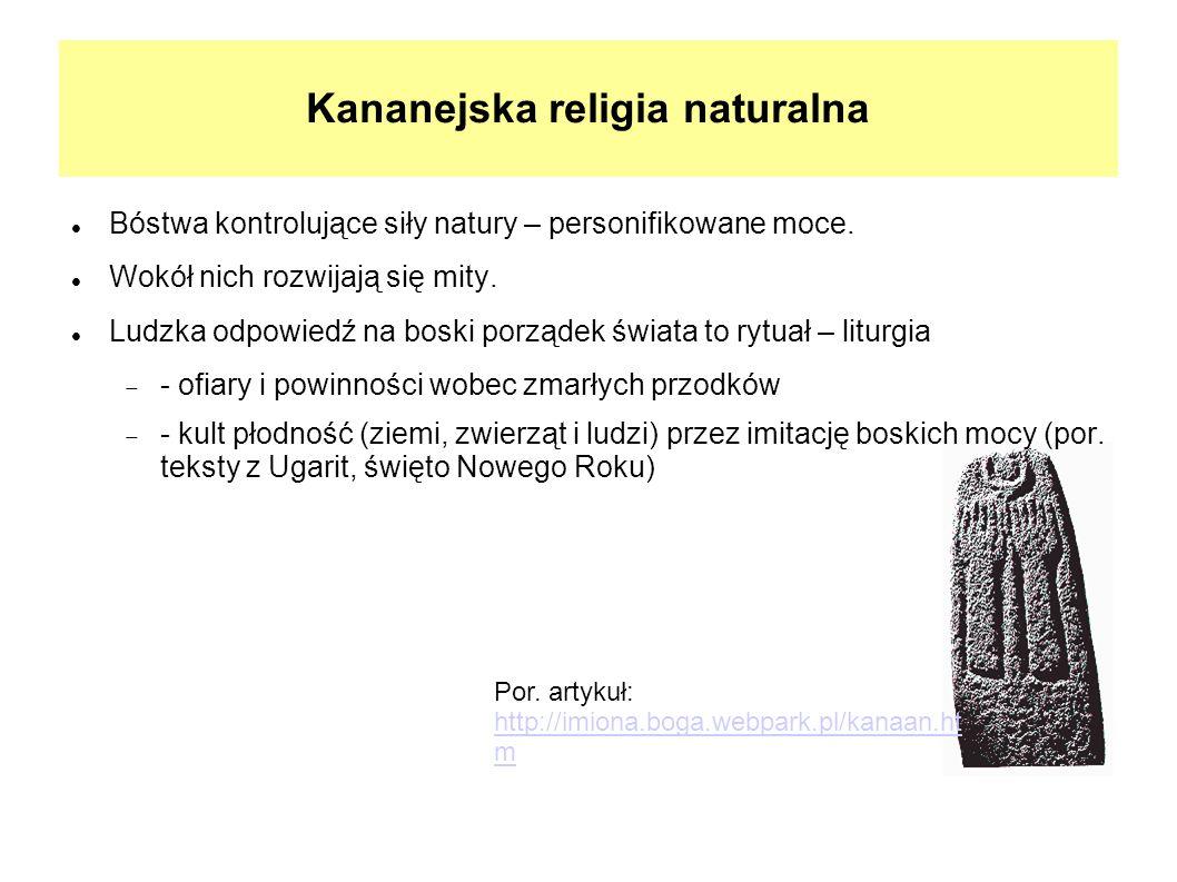 Kananejska religia naturalna