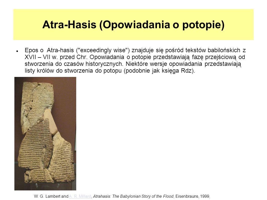 Atra-Hasis (Opowiadania o potopie)