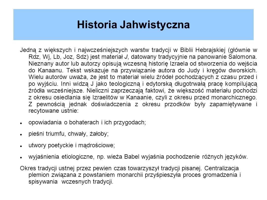 Historia Jahwistyczna