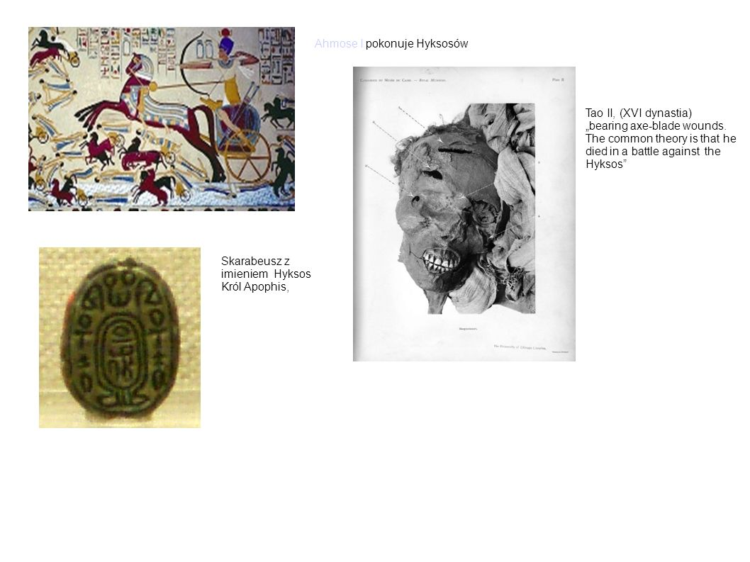 Ahmose I pokonuje Hyksosów