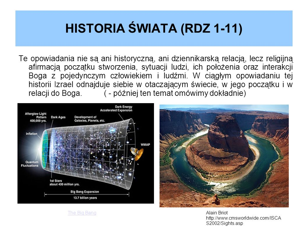 HISTORIA ŚWIATA (RDZ 1-11)