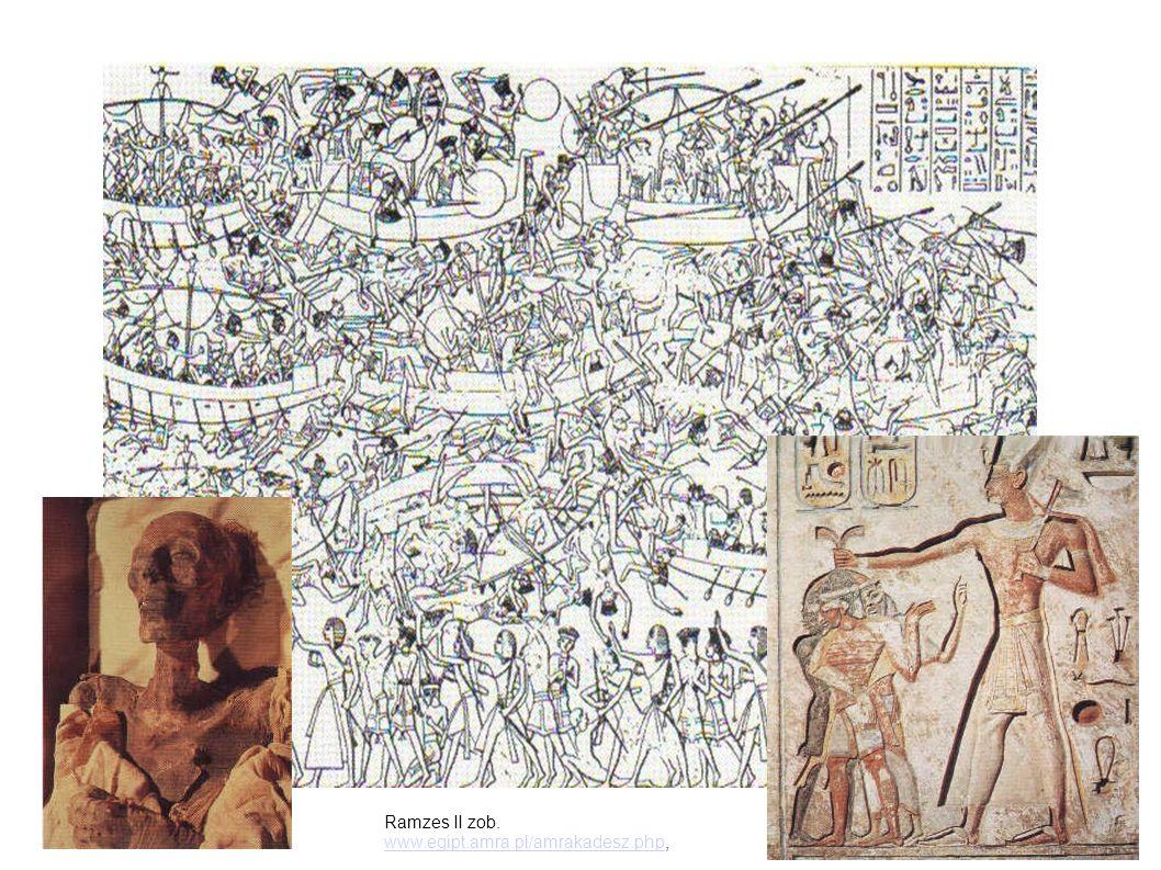 Ramzes II zob. www.egipt.amra.pl/amrakadesz.php,