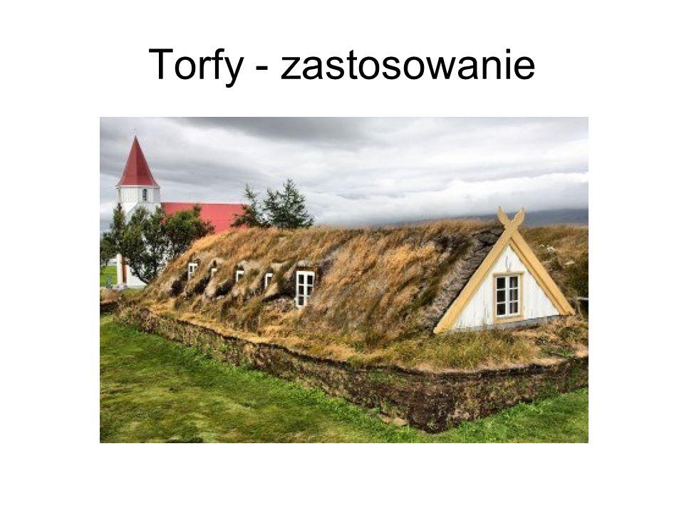 Torfy - zastosowanie
