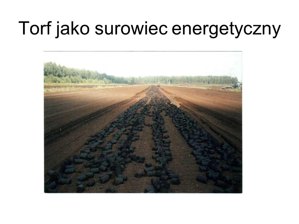 Torf jako surowiec energetyczny