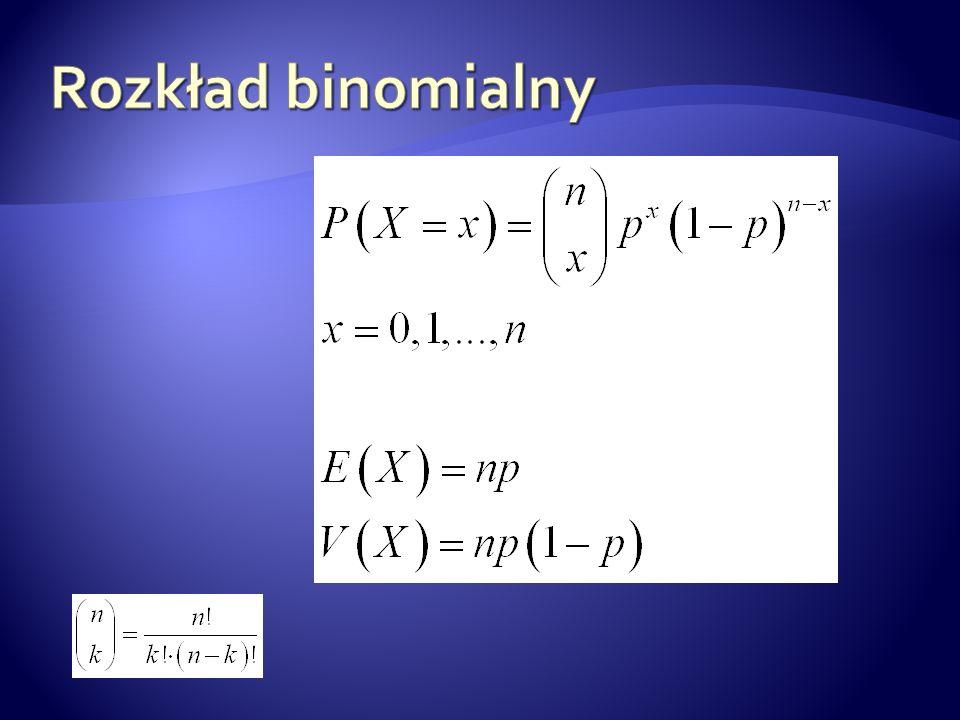 Rozkład binomialny
