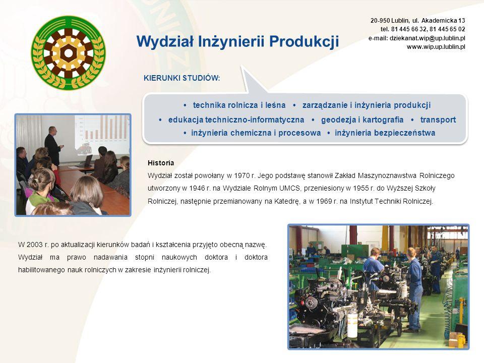 • inżynieria chemiczna i procesowa • inżynieria bezpieczeństwa