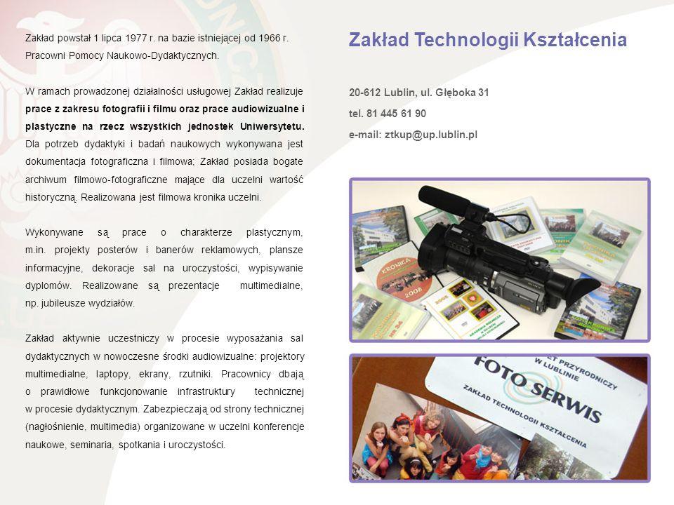 Zakład Technologii Kształcenia