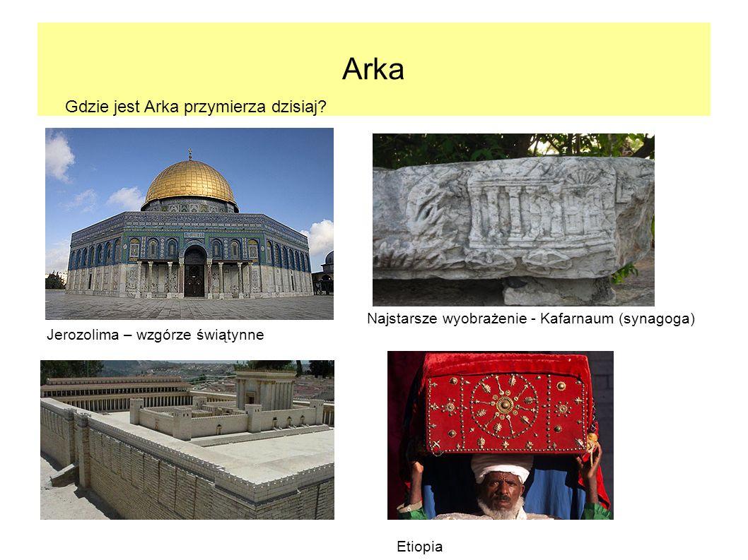 Arka Gdzie jest Arka przymierza dzisiaj