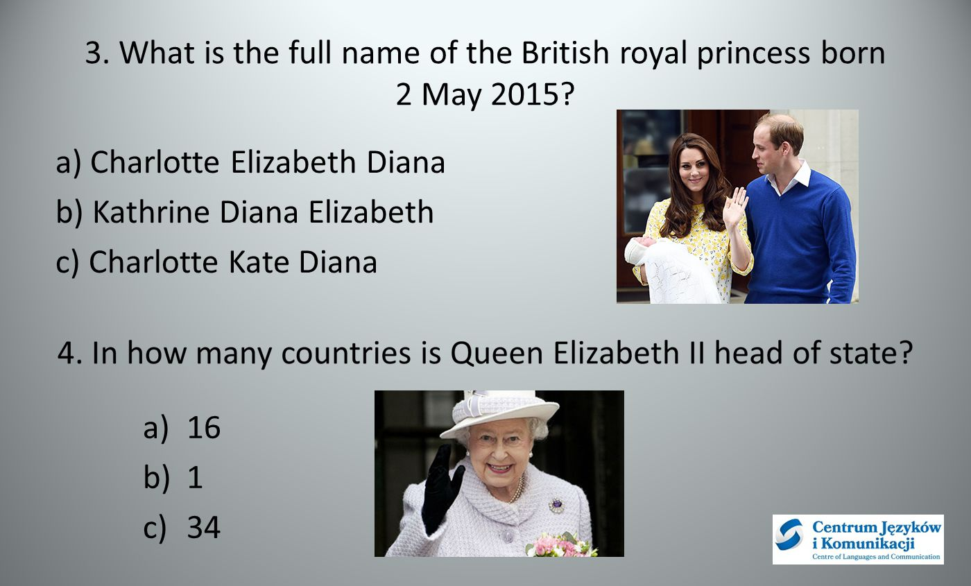 3. What is the full name of the British royal princess born 2 May 2015