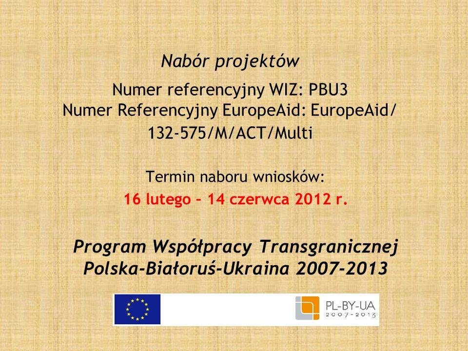 Program Współpracy Transgranicznej Polska-Białoruś-Ukraina 2007-2013