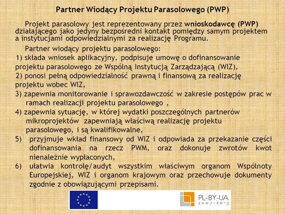 Partner Wiodący Projektu Parasolowego (PWP)