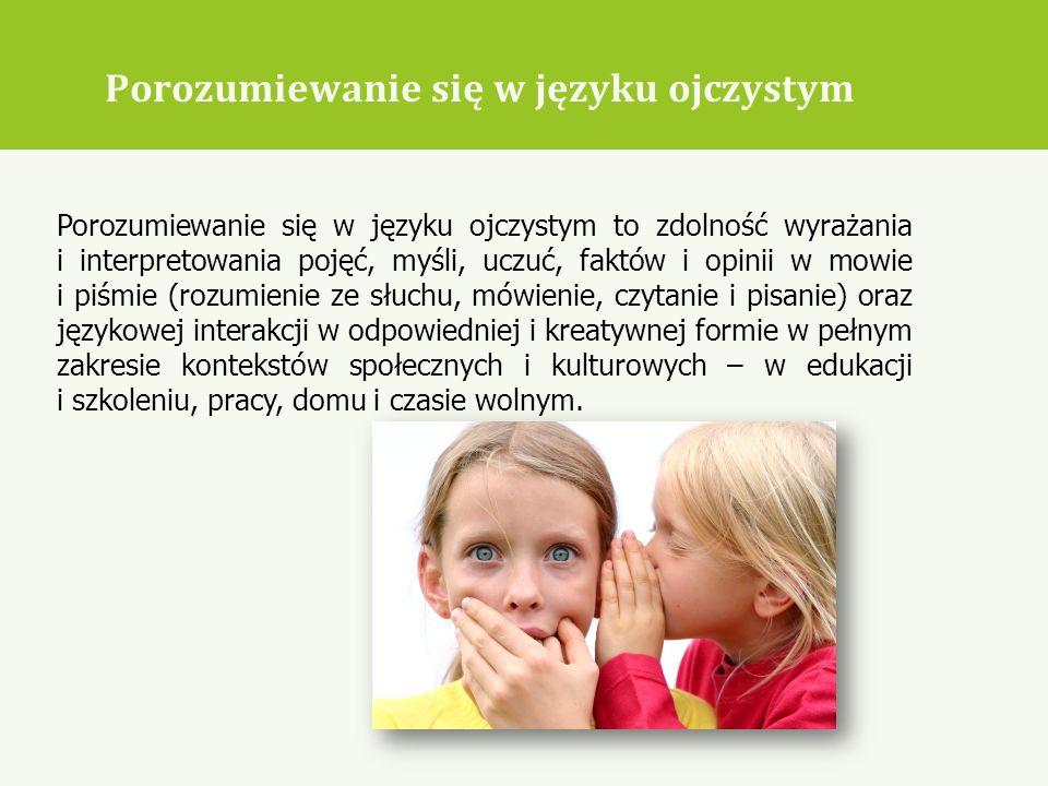 Porozumiewanie się w języku ojczystym