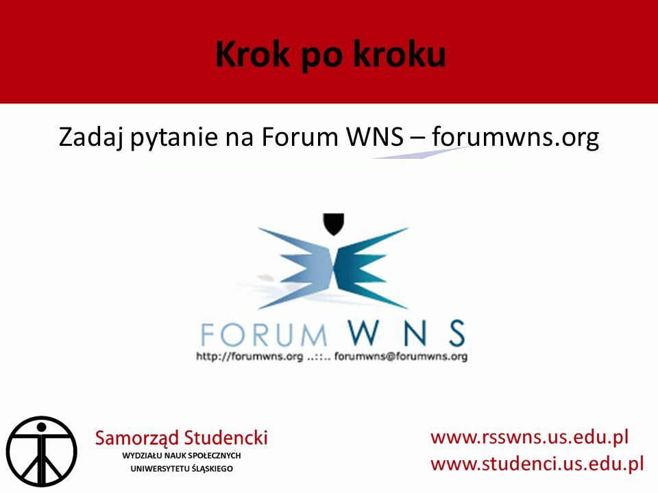 Zadaj pytanie na Forum WNS – forumwns.org