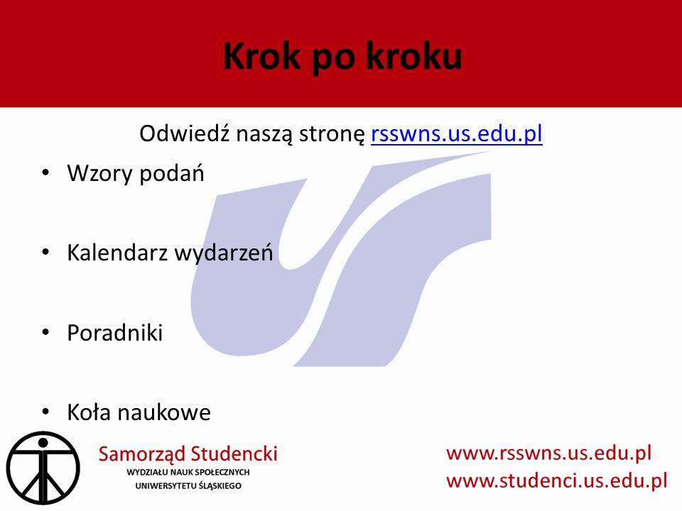 Odwiedź naszą stronę rsswns.us.edu.pl