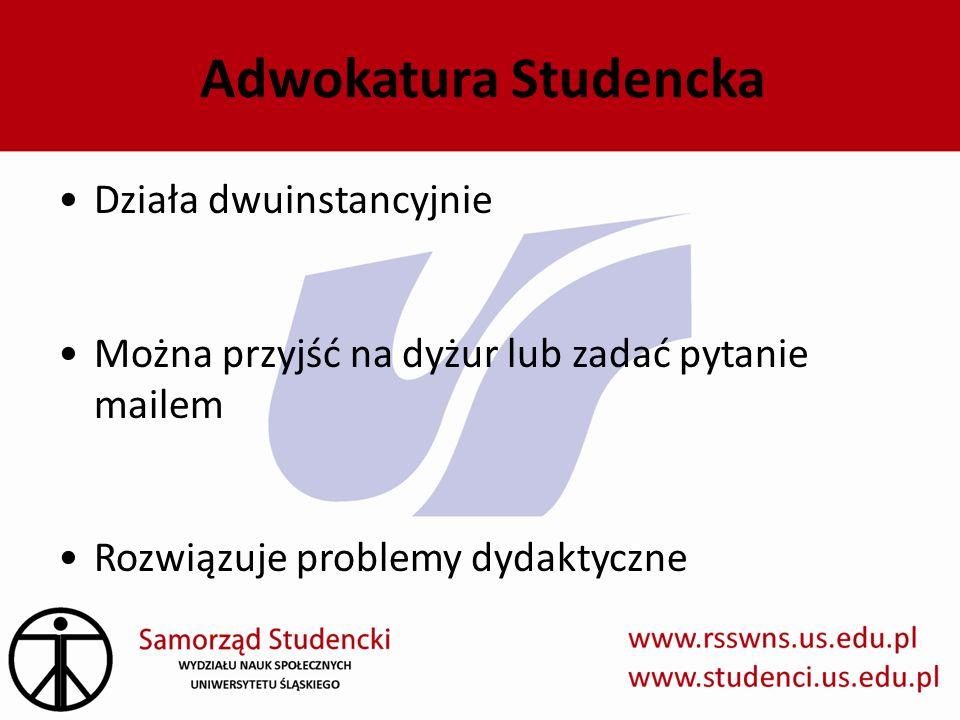 Adwokatura Studencka Działa dwuinstancyjnie