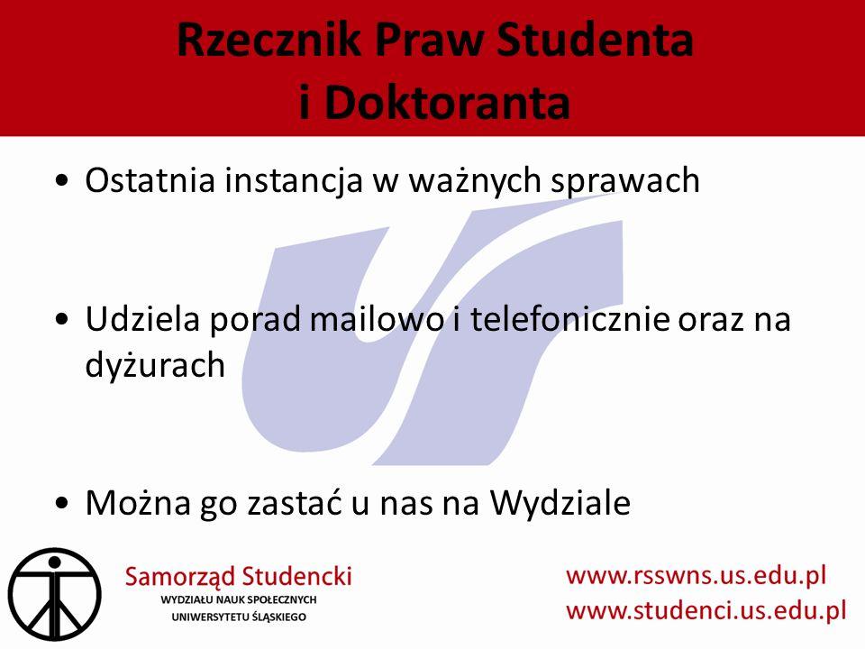 Rzecznik Praw Studenta i Doktoranta