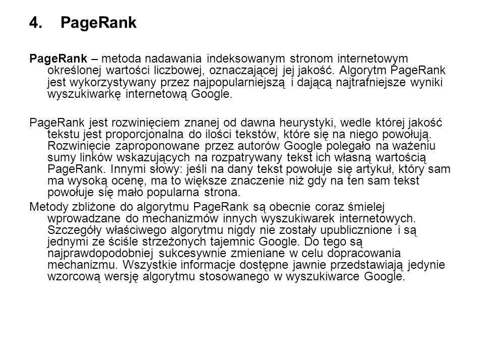 4. PageRank