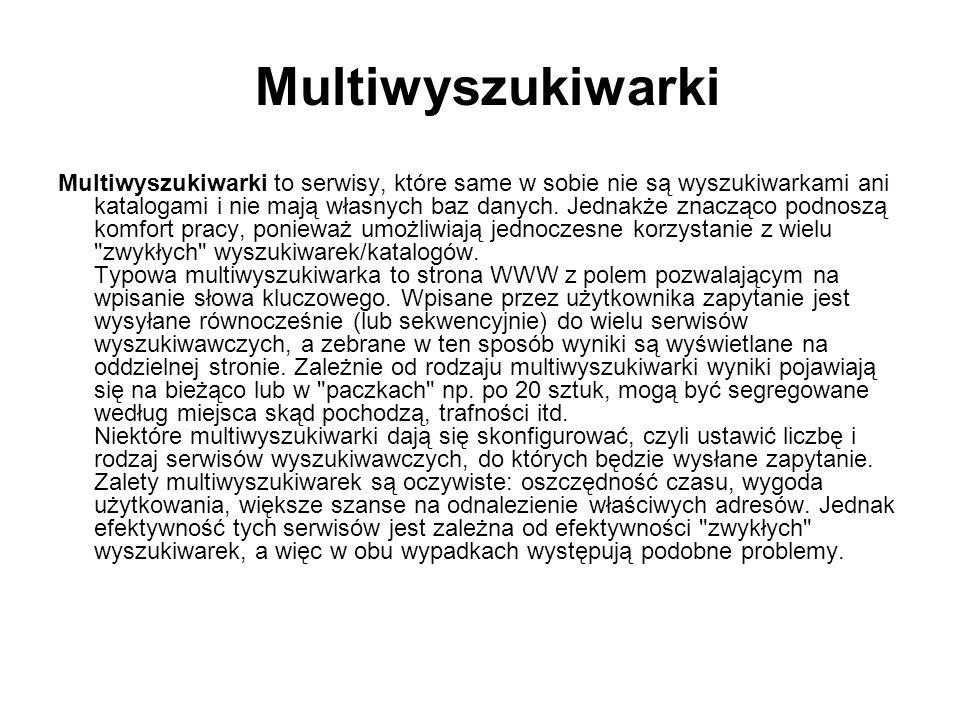 Multiwyszukiwarki