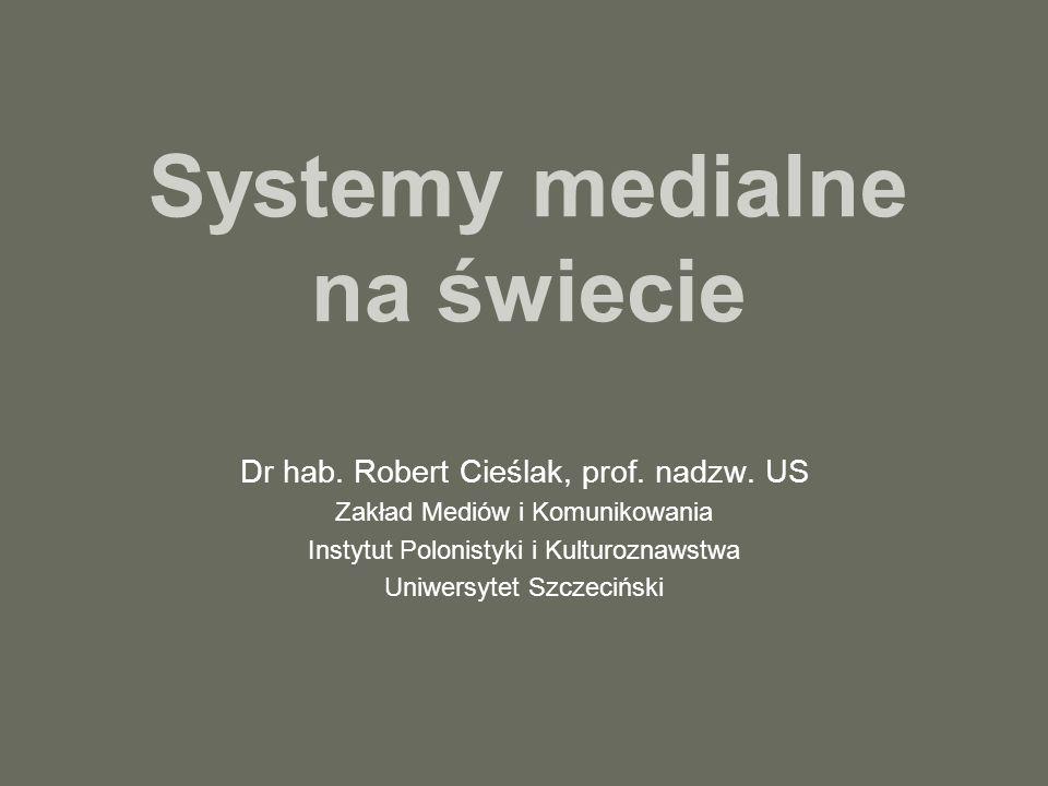 Systemy medialne na świecie