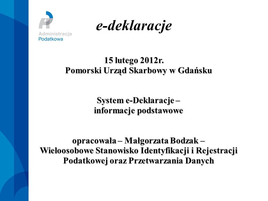 e-deklaracje