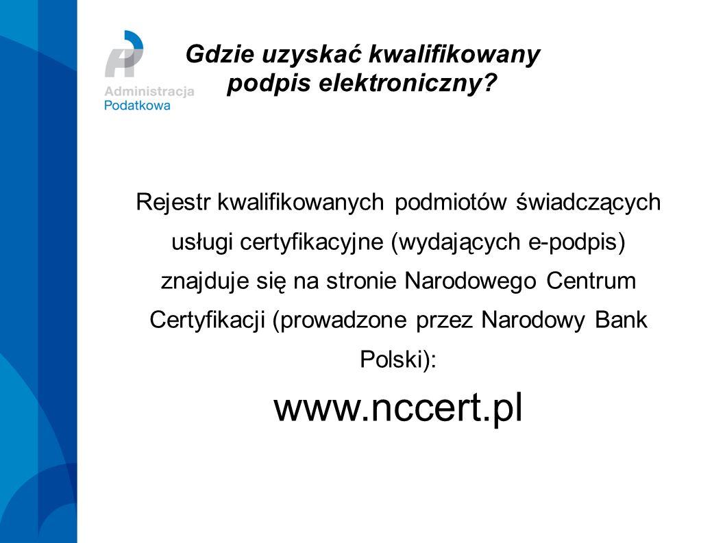 Gdzie uzyskać kwalifikowany podpis elektroniczny